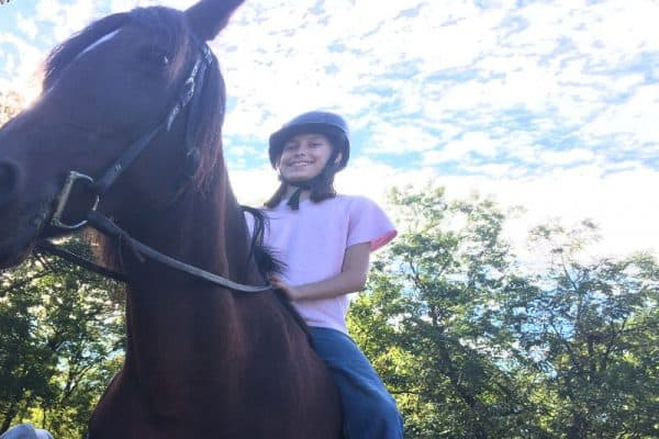 (riding lessons) Fall 2017